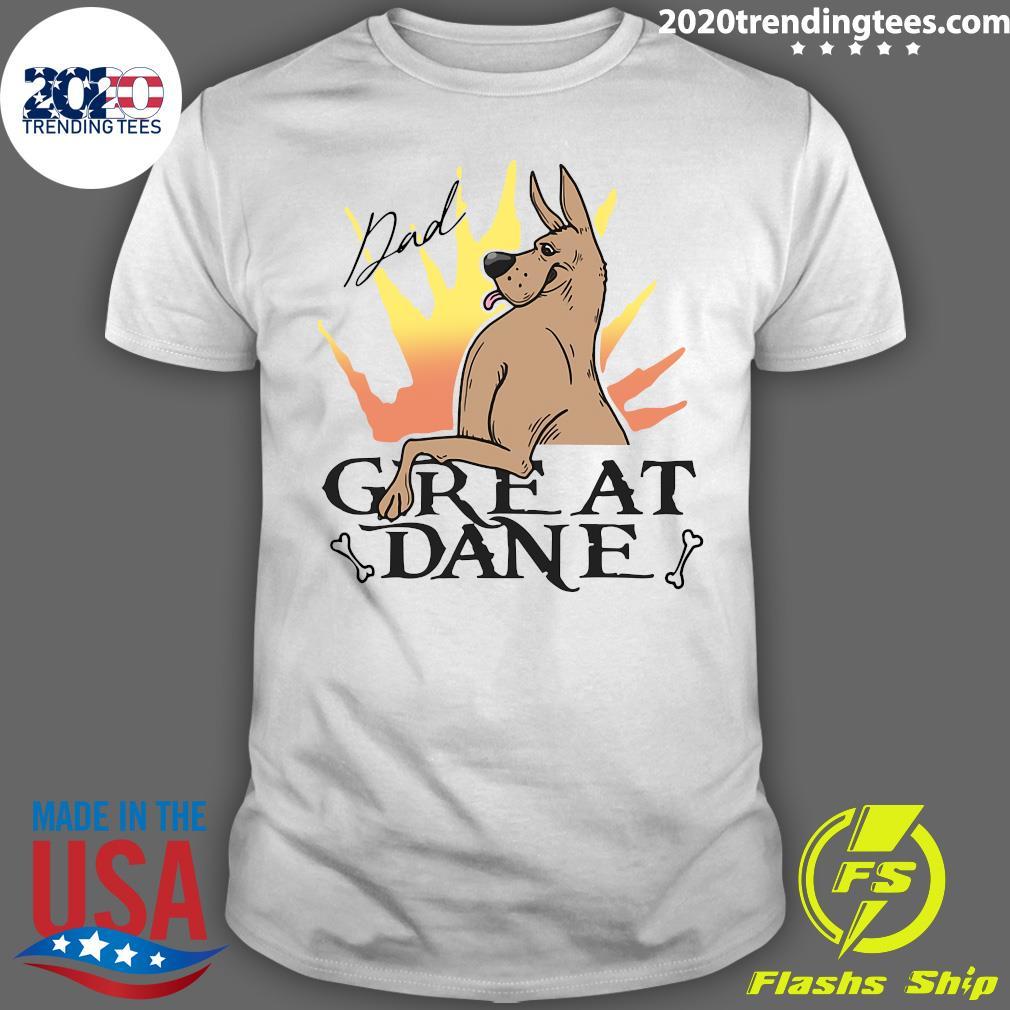 Great Dane Dad Shirt