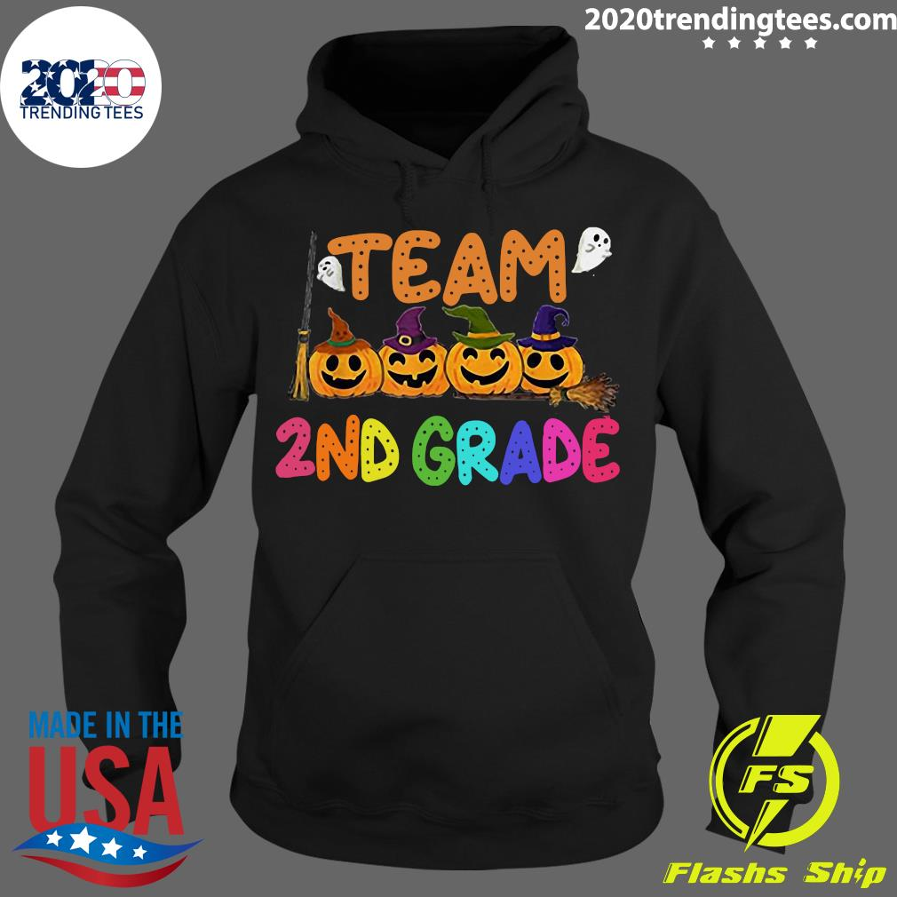 Halloween Team 2nd Second Grade Costumes For Student Shirt Hoodie