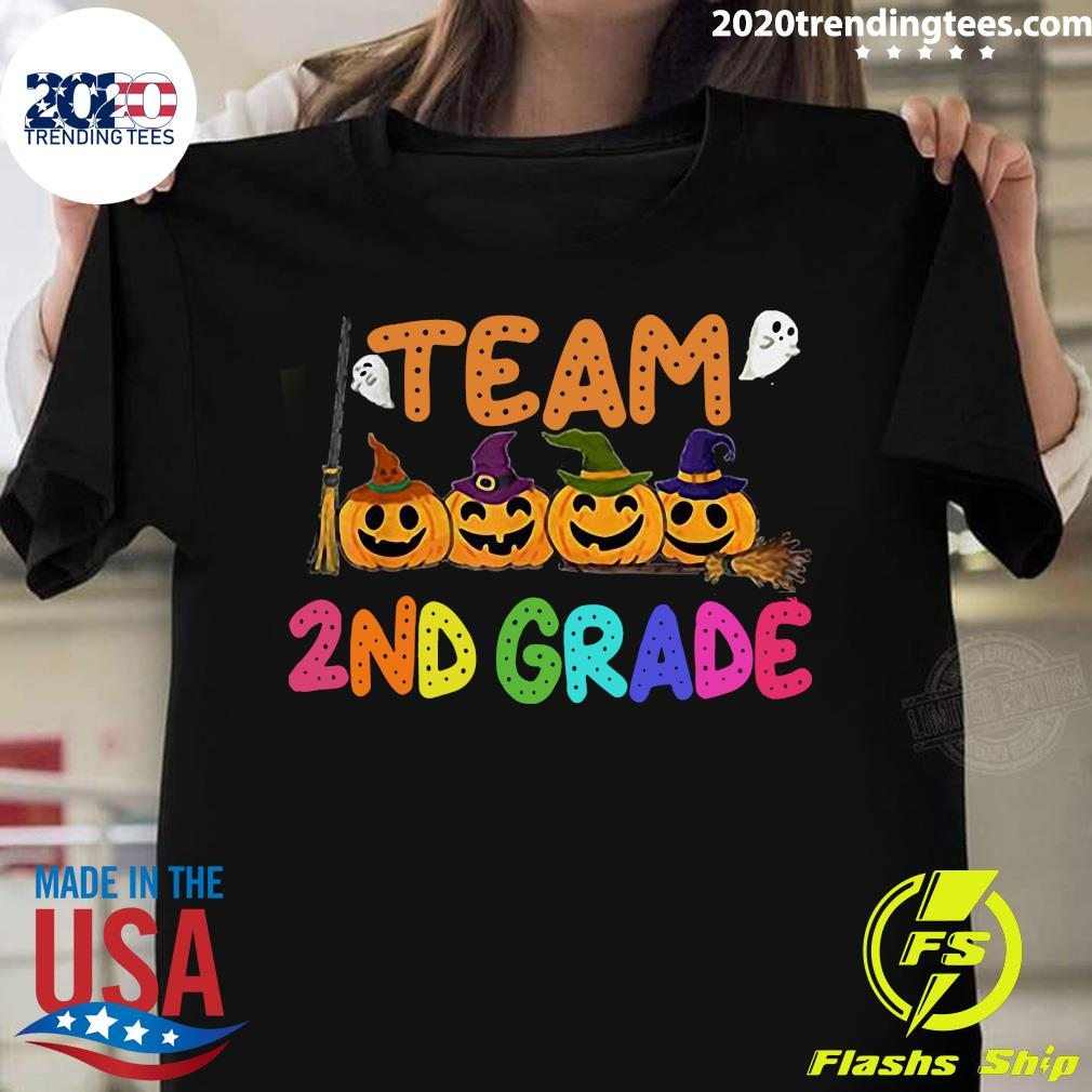 Halloween Team 2nd Second Grade Costumes For Student Shirt