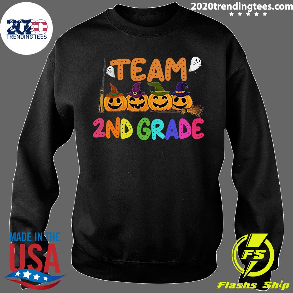 Halloween Team 2nd Second Grade Costumes For Student Shirt Sweater