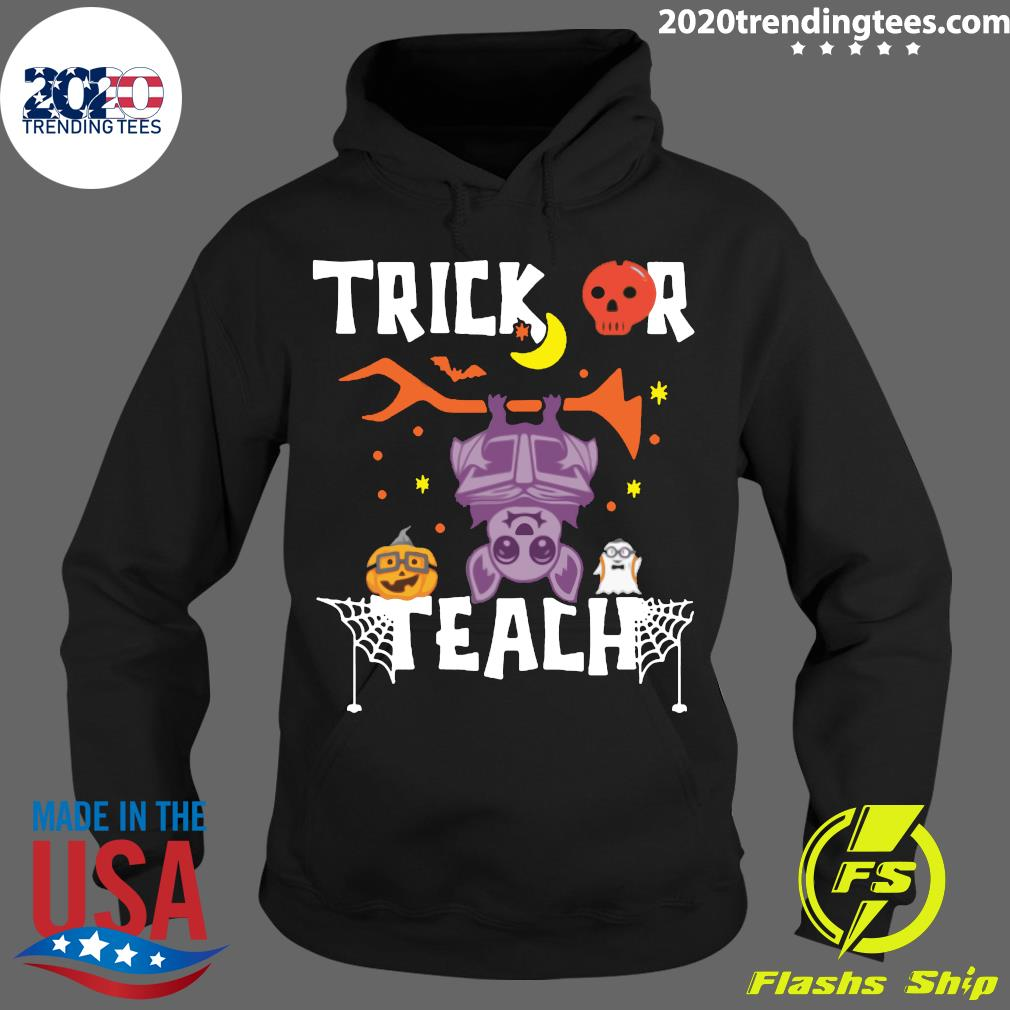Halloween Trick Or Teach Teacher Hallowen Shirt Hoodie