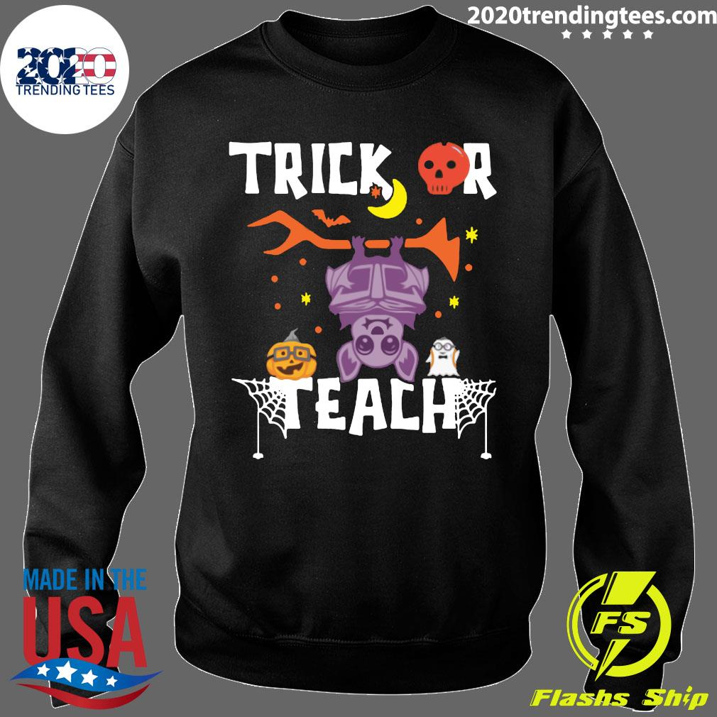 Halloween Trick Or Teach Teacher Hallowen Shirt Sweater