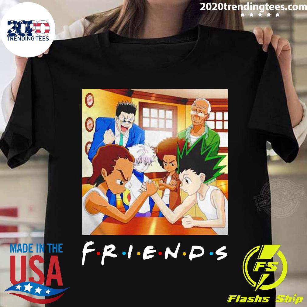 Hunter X Boondocks Friends Tv Show Shirt