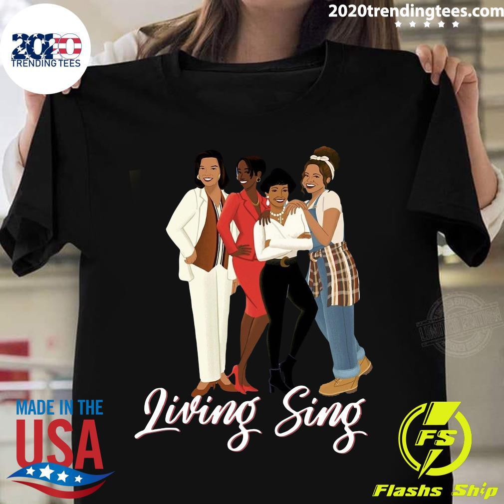 Mens 90s Appreciation Tee Living Single Shirt