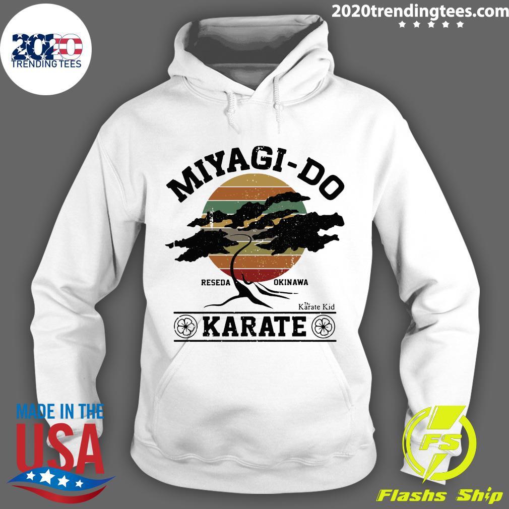 Miyagi Do Reseda Okinawas Karate The Karate Kid Shirt Hoodie