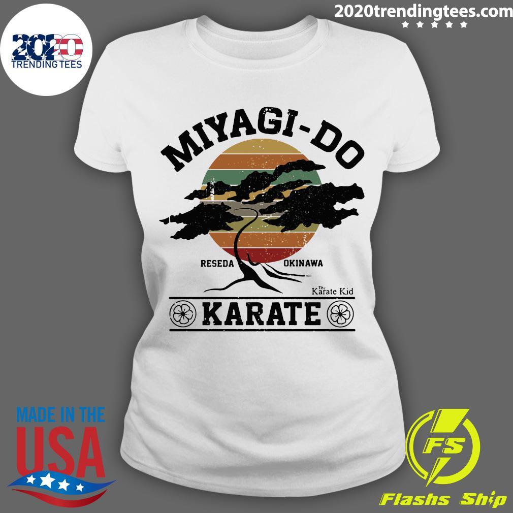 Miyagi Do Reseda Okinawas Karate The Karate Kid Shirt Ladies tee