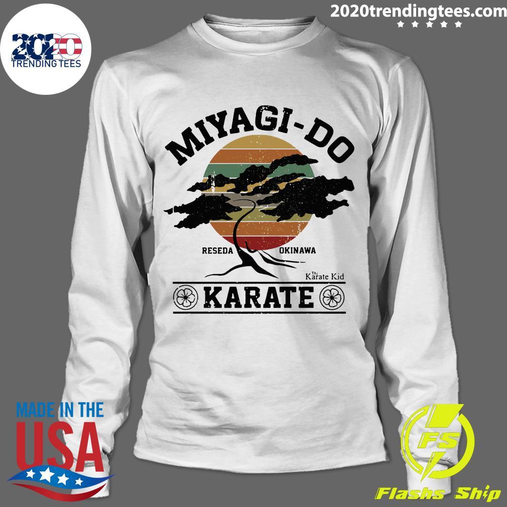 Miyagi Do Reseda Okinawas Karate The Karate Kid Shirt Longsleeve