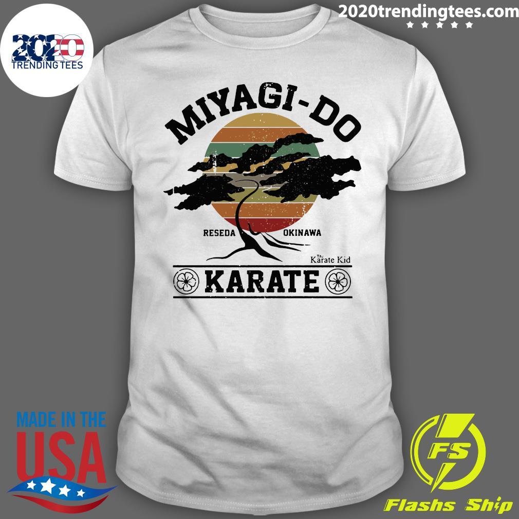 Miyagi Do Reseda Okinawas Karate The Karate Kid Shirt
