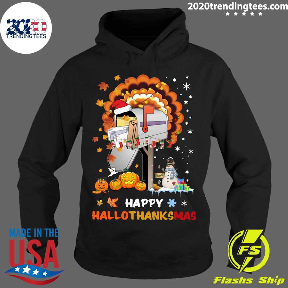 Postal Happy Hallo Thanksmas Shirt Hoodie