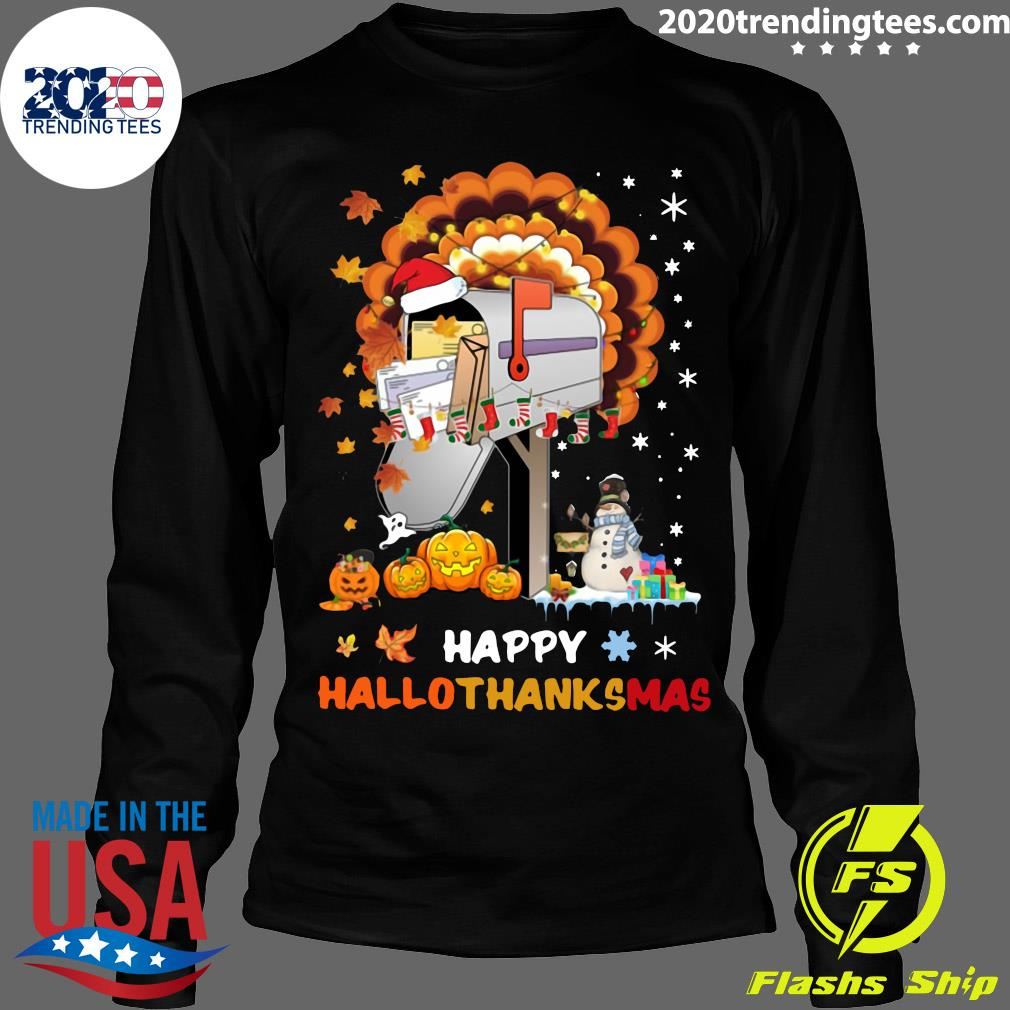 Postal Happy Hallo Thanksmas Shirt Longsleeve