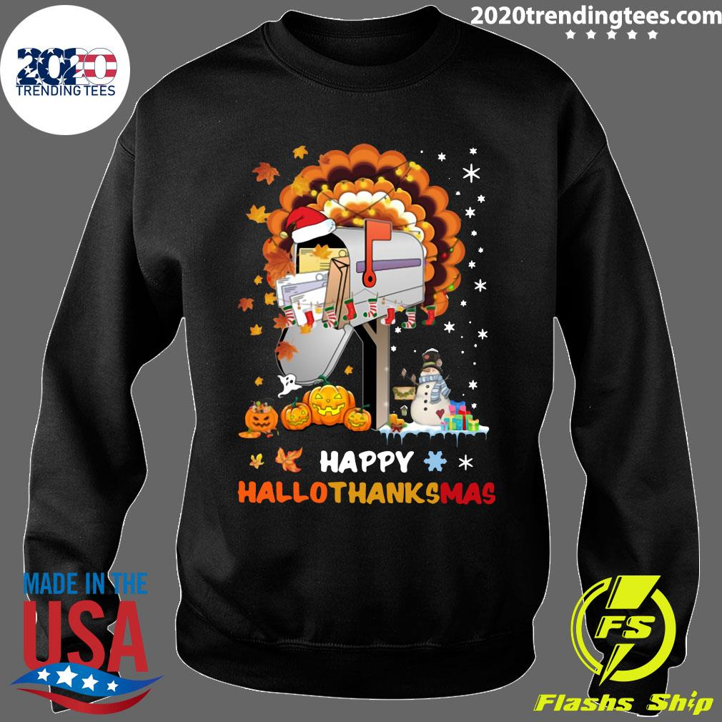 Postal Happy Hallo Thanksmas Shirt Sweater