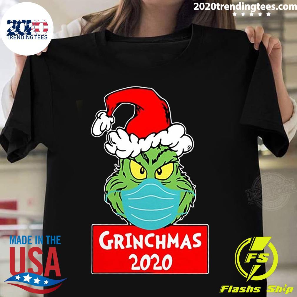 Quarantined Christmas 2020 Grinchmas 2020 Shirt