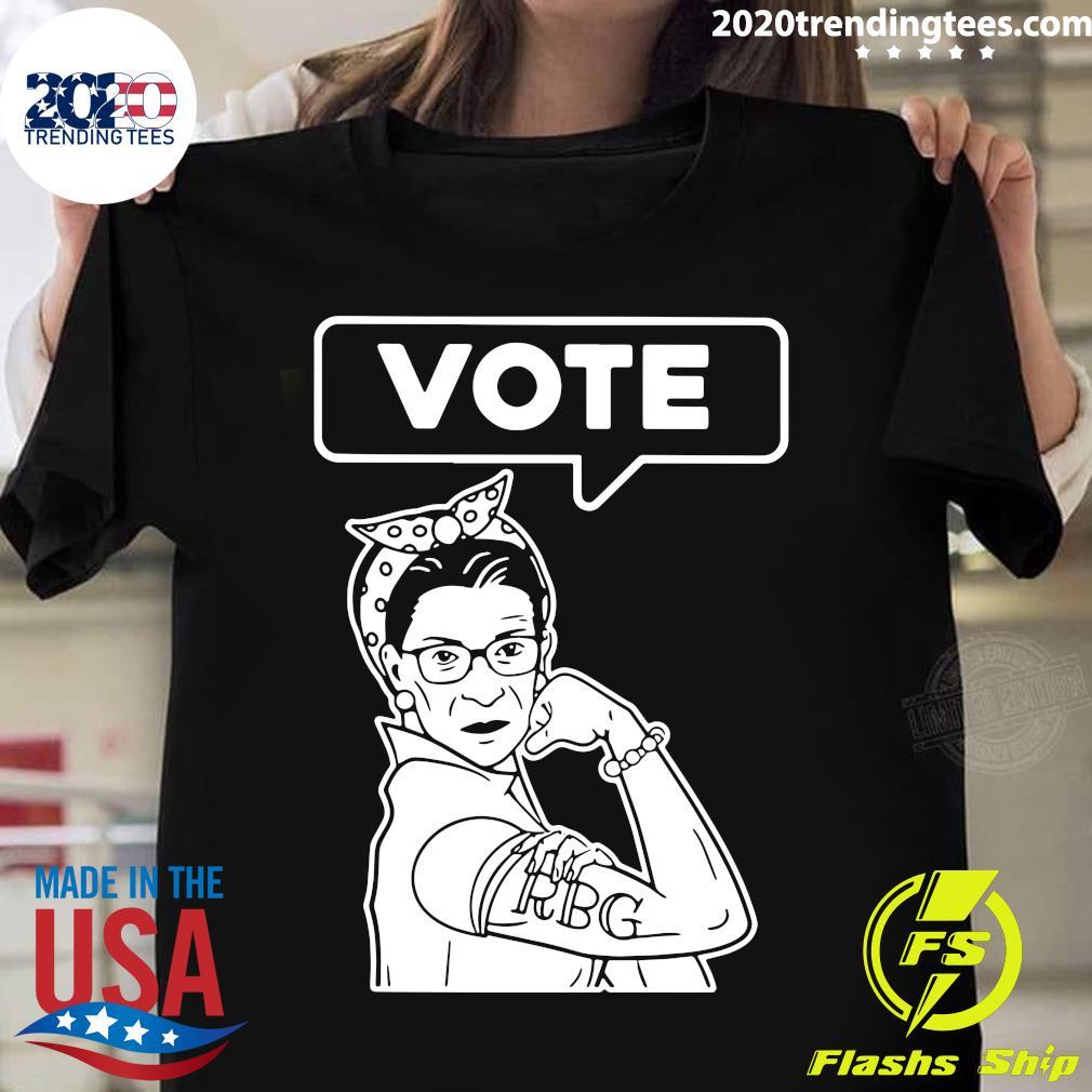 RIP RBG Ruth Bader Ginsburg VOTE Shirt