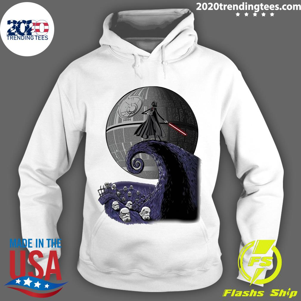 Star Wars Darth Vader The Nightmare Before Christmas Shirt Hoodie