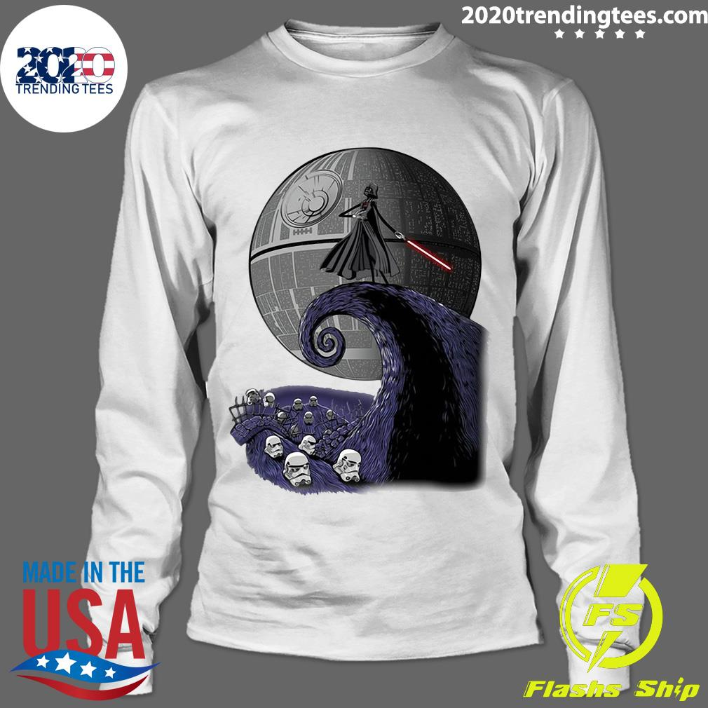 Star Wars Darth Vader The Nightmare Before Christmas Shirt Longsleeve