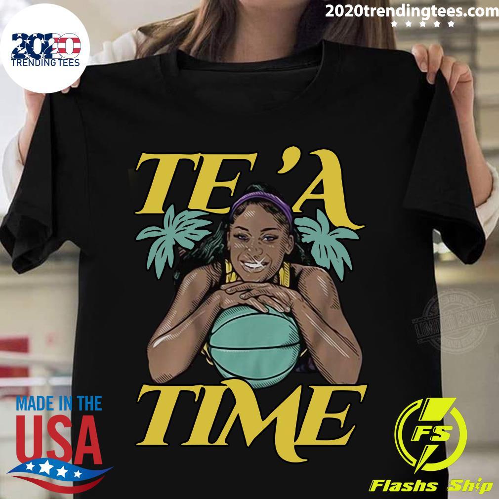 Te'a Cooper Te'a Time Los Angeles Shirt