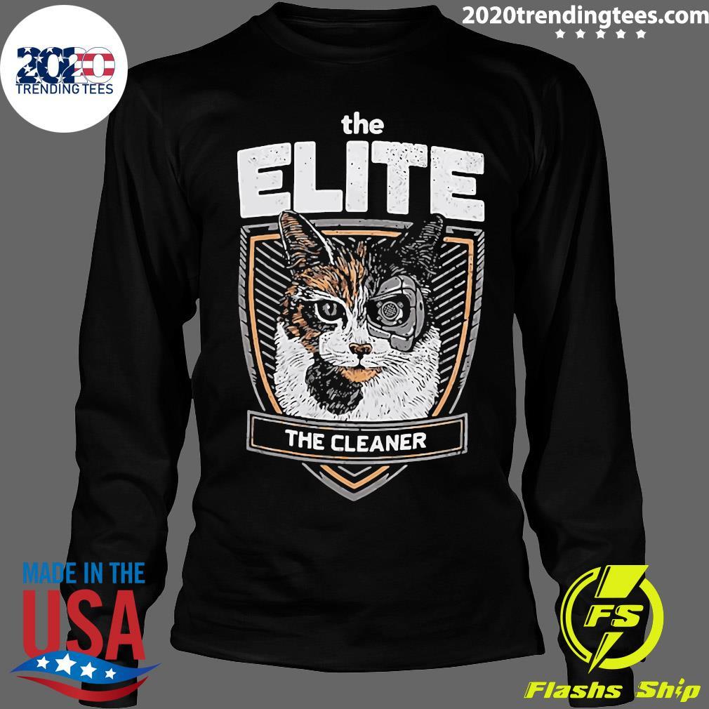 The Elite The Cleaner Shirt Longsleeve