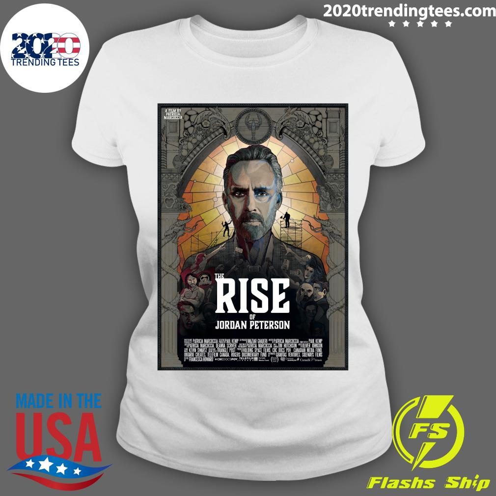 The Rise Of Jordan Peterson Film Poster Shirt Ladies tee