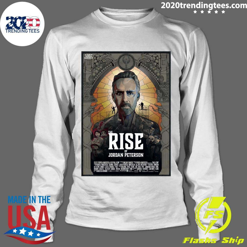 The Rise Of Jordan Peterson Film Poster Shirt Longsleeve