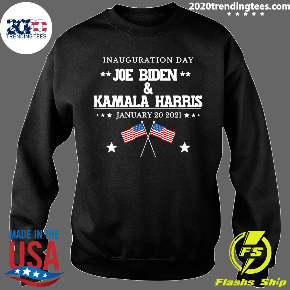 American Flag Joe Biden And Kamala Harris Inauguration Day January 20 2021 Shirt Sweater