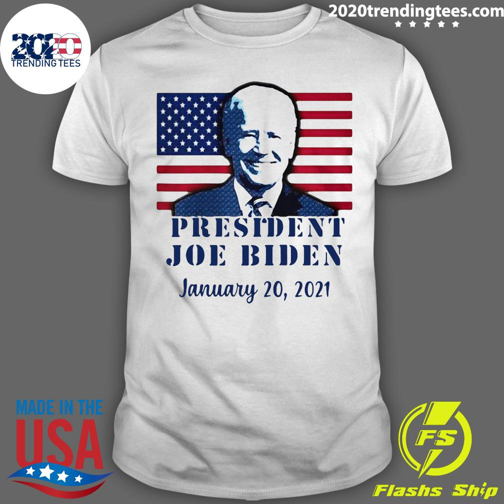 American Flag Joe Biden Inauguration Day Jan 20, 2021 Shirt