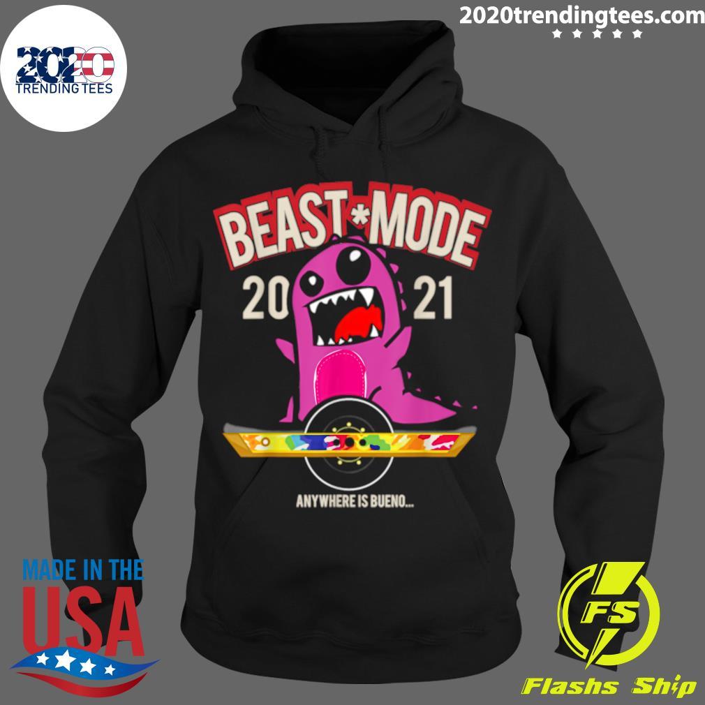 Beast Mode 2021 Floating Shirt Hoodie
