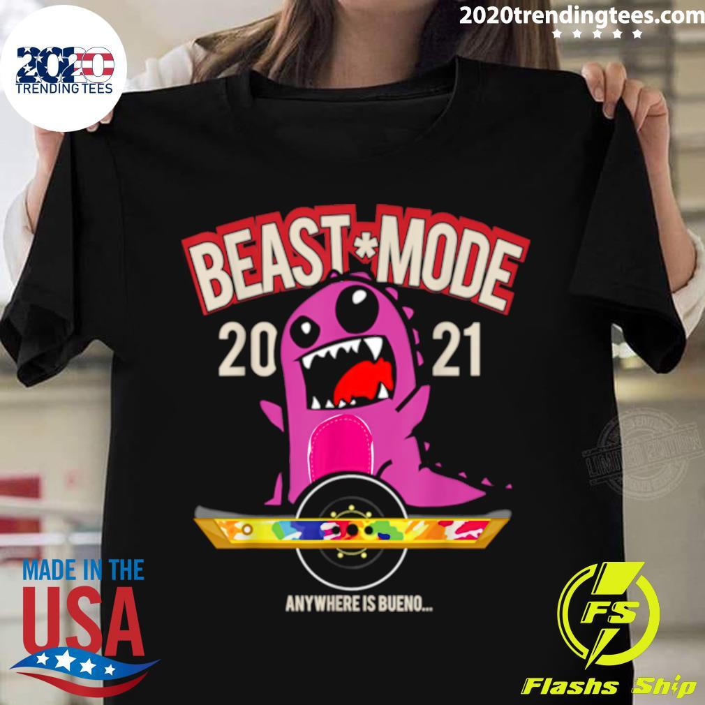 Beast Mode 2021 Floating Shirt