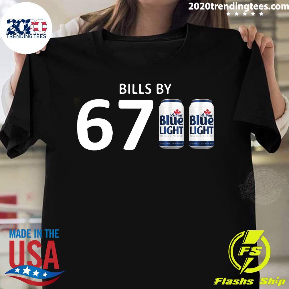 Bills By 67 Blue Light Shirt