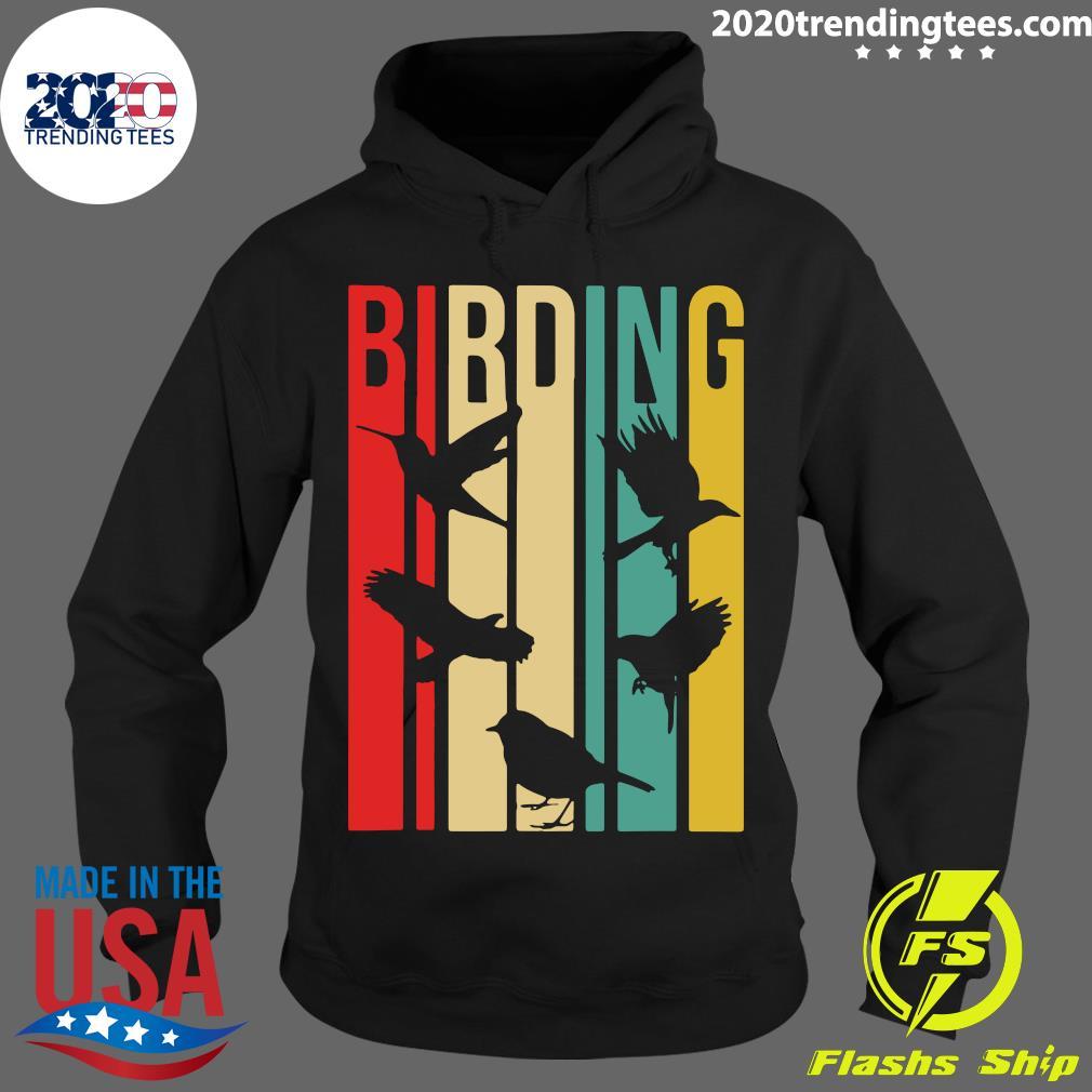 Bird Watching Birding Vintage Shirt Hoodie