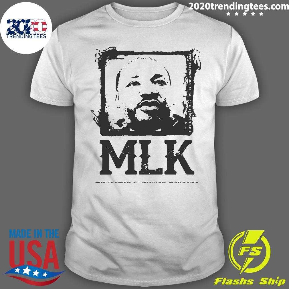 Black Portrait Martin Luther King MLK shirt