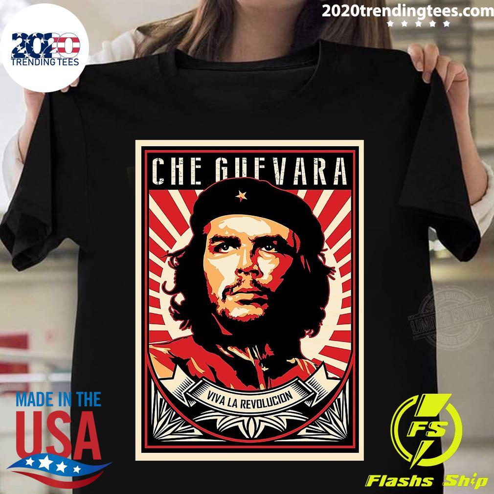 Che Guevara Viva La Revolucion Vintage Shirt