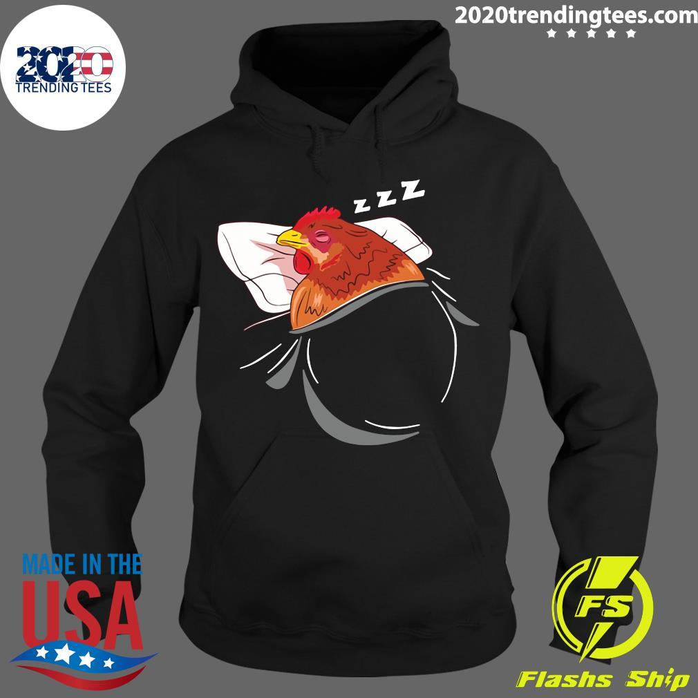 Chicken Sleeping Pajamas Nap Farmer Gift Shirt Hoodie