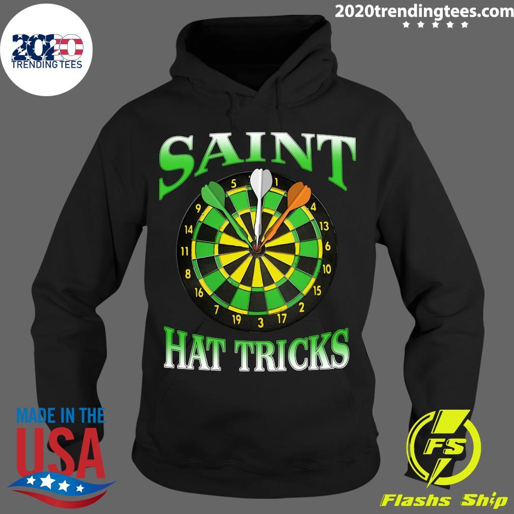Darts Saint Hat Trick Irish St Patrick's Day Shirt Hoodie