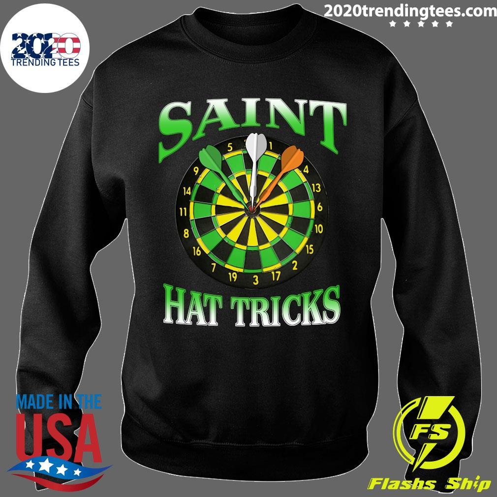 Darts Saint Hat Trick Irish St Patrick's Day Shirt Sweater