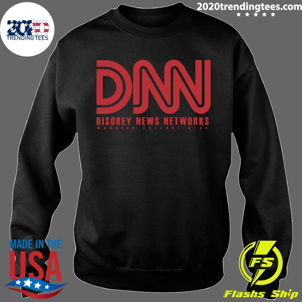 DNN Disobey News Networks Shirt Sweater
