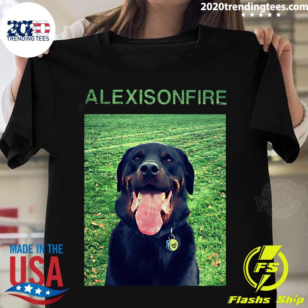 Dog Alexisonfire Merch Shirt