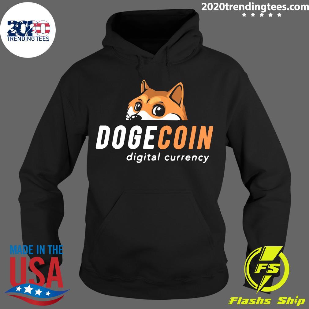 Dogecoin Digital Currency Shirt Hoodie