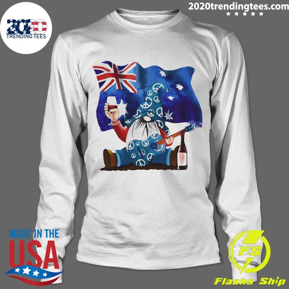 Dwarfs Wine Australia Flag Shirt Longsleeve