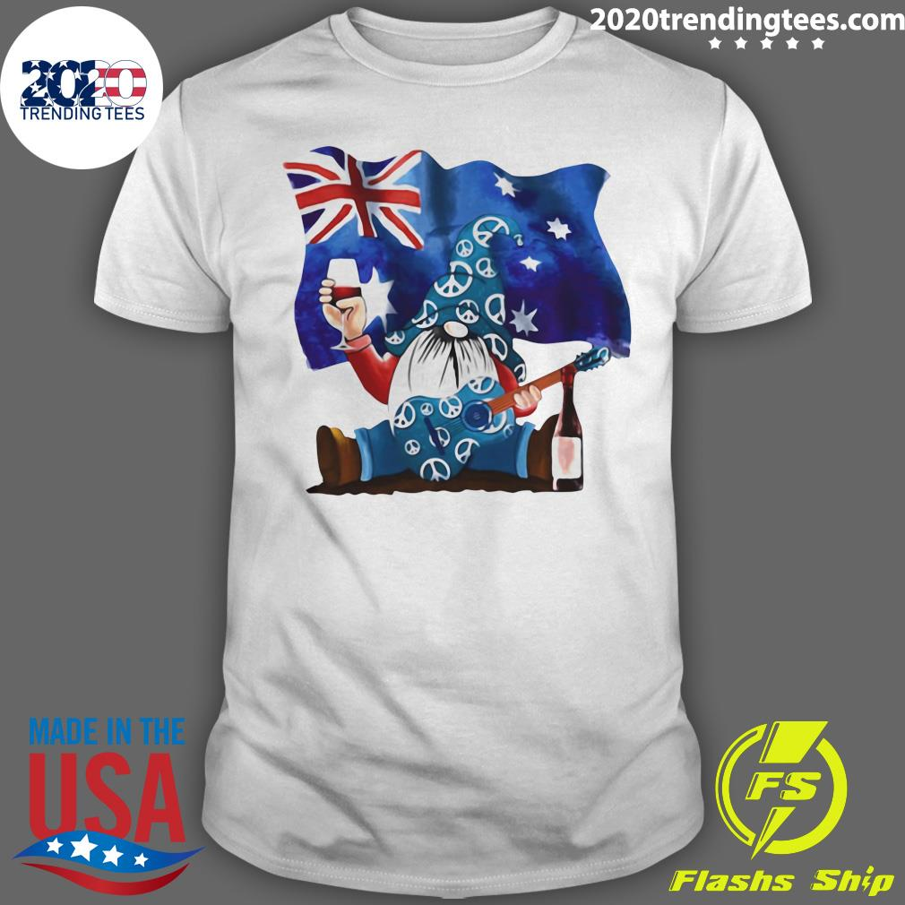 Dwarfs Wine Australia Flag Shirt