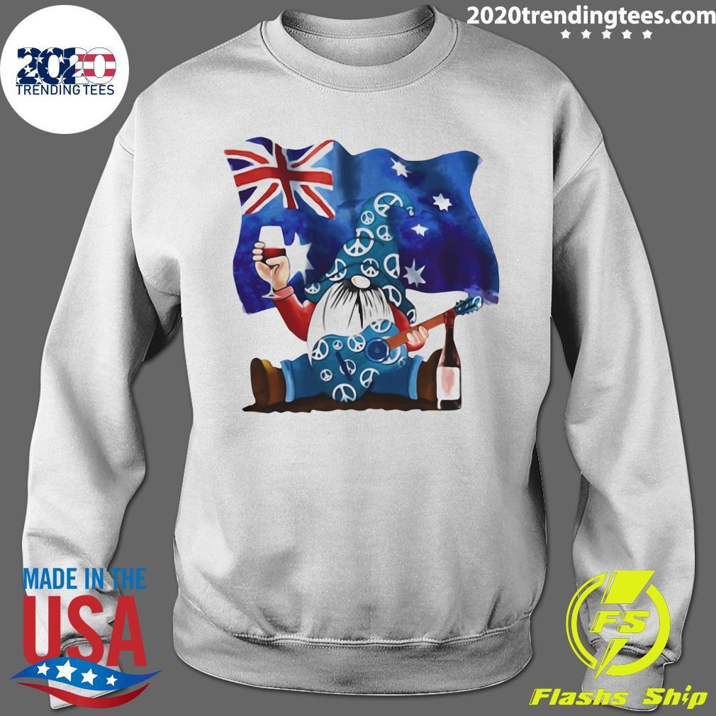 Dwarfs Wine Australia Flag Shirt Sweater