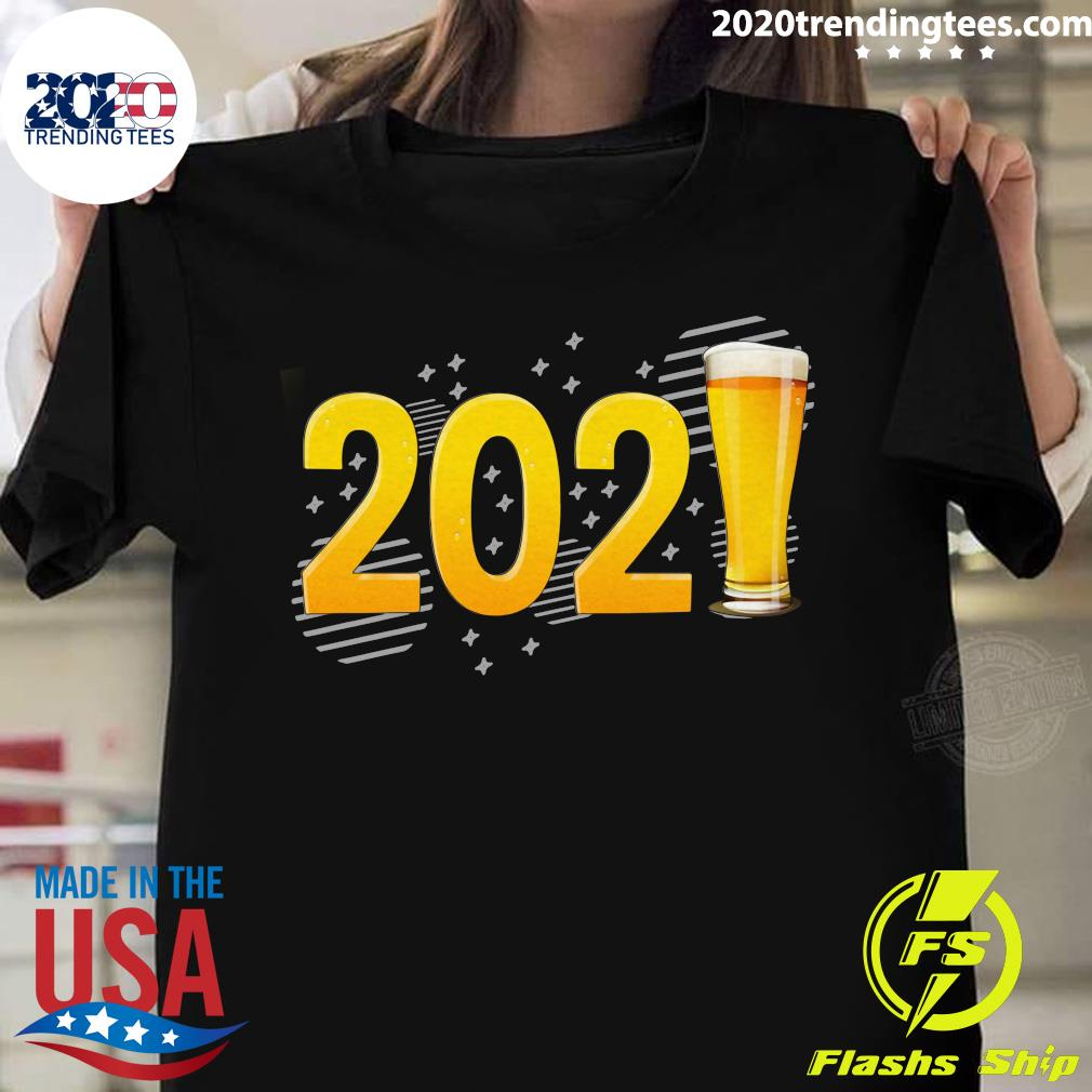 Happy New Year 2021 Beer Shirt