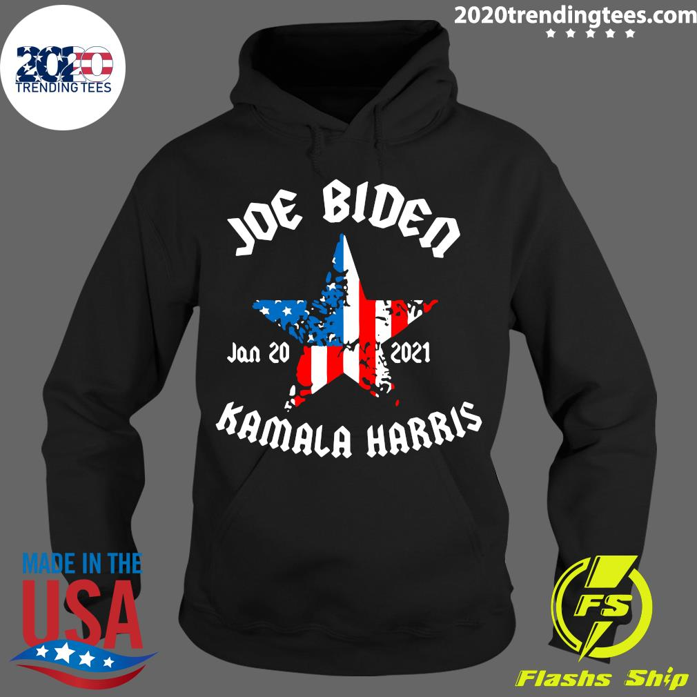 Jan 20 2021 Joe Biden And Kamala Harris President Of United States Shirt Hoodie