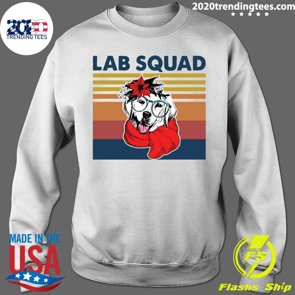 Labrador Lab Squad Duck Hunting Vintage Retro Shirt Sweater