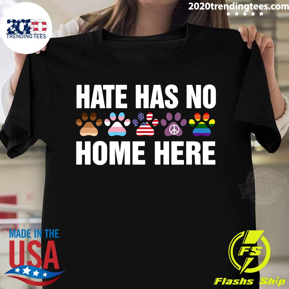 LGBT Hate Has No Home Here Dog Shirt