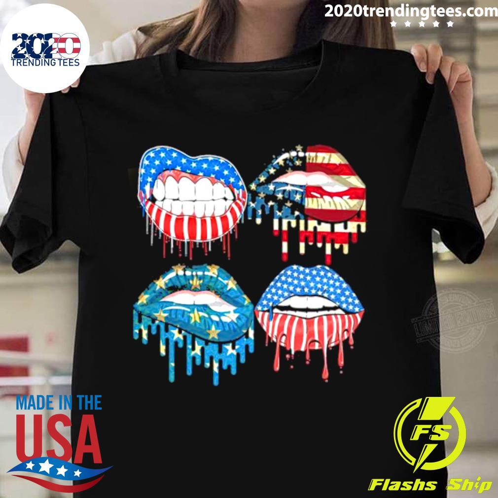 Lip American Flag 2021 Shirt
