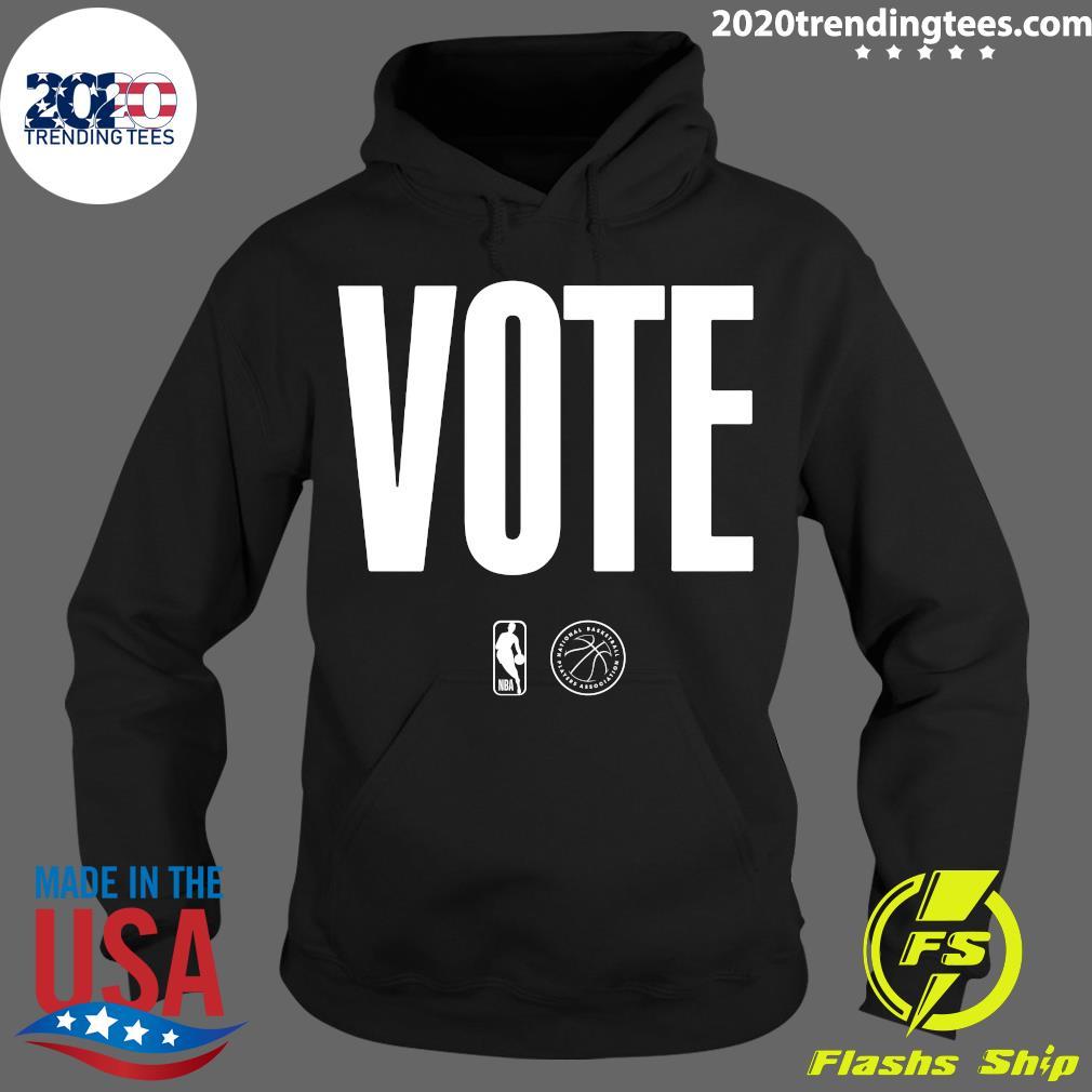 Logo NBA Vote Shirt Hoodie