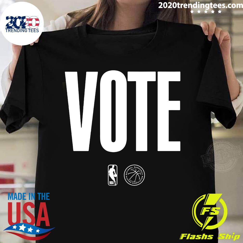 Logo NBA Vote Shirt