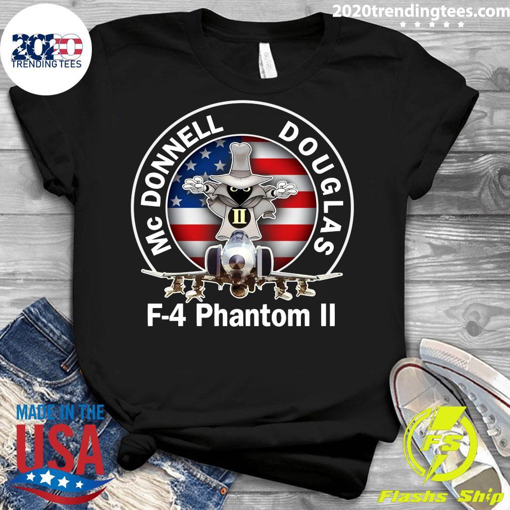 Mcdonnell Douglas-f 4 Phantom Shirt Ladies tee