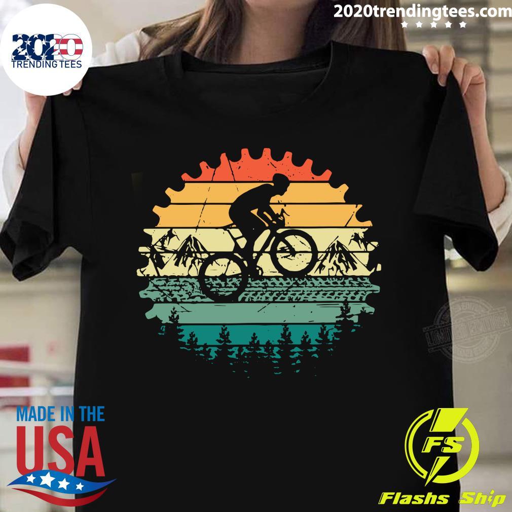 Mountain Biking MTB Vintage Retro Shirt