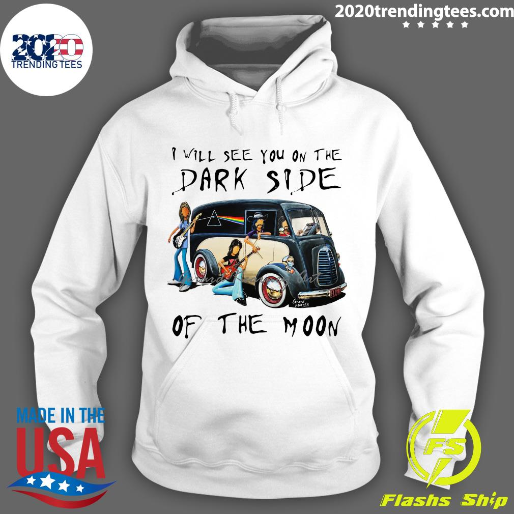 Pink Floyd I Will See You On The Dark Side Of The Moon Shirt Hoodie